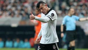 Gary Medel'den Beşiktaş'a veda mesajı
