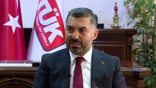 RTÜK Başkanı'ndan ''internete sansür'' açıklaması