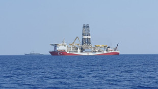 Dünyanın gözü burada... ''Yavuz'' Doğu Akdeniz'de sondaja başladı