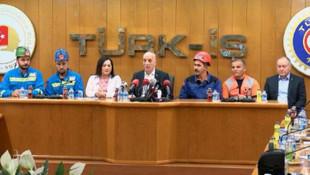 Türk-İş Genel Başkanı: Dayanma gücümüz kalmadı