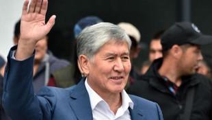 Kırgızistan eski Cumhurbaşkanı'nın evine operasyon