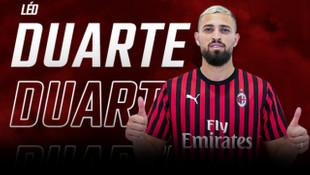 Milan, Leo Duarte'yi 5 yıllığına kadrosuna kattı