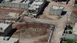 YPG/PKK'yı korku sardı ! Terör mevzileri böyle görüntülendi