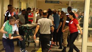 Siirt'te yolcu minibüsü devrildi: 2 ölü, 9 yaralı