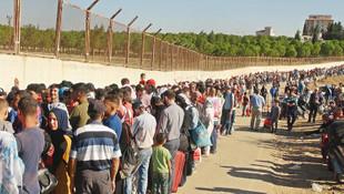 Bayram tatilinden dönen Suriyelilerin sayısı 37 bini buldu