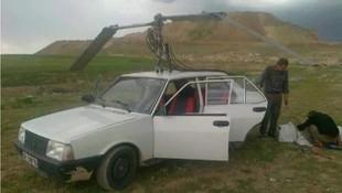 TOFAŞ Şahin'e helikopter pervanesi taktılar!