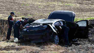 Beştepe'ye giden CHP'li başkanın konvoyunda kaza