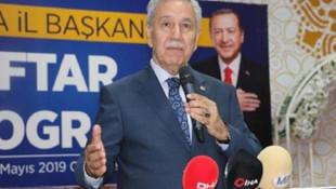 Bülent Arınç'tan AK Parti'den gelen Ahmet Türk eleştirilerine yanıt