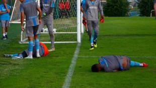 Trabzonspor'da Fernandes ve Ekuban sakatlandı