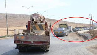 9 tonluk beton mevziler sınırda