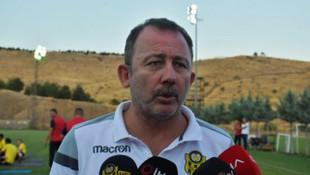 Yeni Malatyaspor'da Sergen Yalçın'dan futbolcularına uyarı