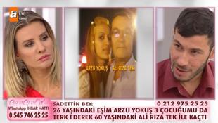 Esra Erol'da skandal iddia: ''Eşim 60 yaşındaki adamla kaçtı''