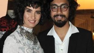 Tuba Büyüküstün'ün sevgilisi Umut Evirgen film festivalinde