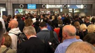 Hamburg Havaalanı'nda alarm! Uçuşlar iptal edildi