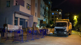 İstanbul'da çökme tehlikesi! Bina boşaltıldı