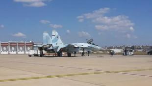 Rus savaş uçağı SU-35 İstanbul'da!