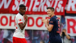 Leipzig 1 - 1 Bayern Münih (Bundesliga)