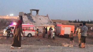 Türkiye sınırında bombalı saldırı: 12 kişi öldü !