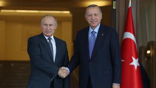 Erdoğan Putin'le yeniden tanıştı: ''Nice to meet you''