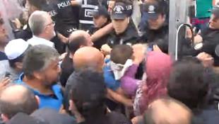 AK Partili belediyeye protestoya biber gazlı müdahale