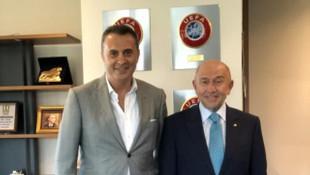 Fikret Orman'dan Nihat Özdemir'e ziyaret