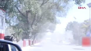 Mitingteki patlama anı kamerada; onlarca ölü var!