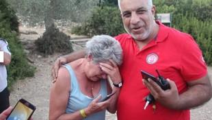 Ormanda kaybolan turist bakın nerede bulundu