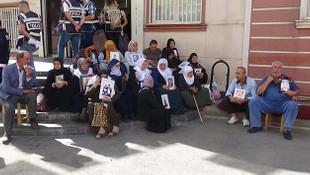HDP önünde eylem yapan aile sayısı 39'a yükseldi