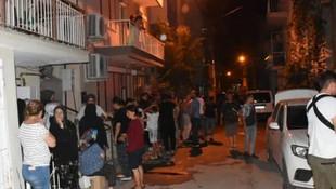 Korkunç patlama mahalleliyi sokağa döktü