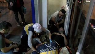 Metrobüste yer kavgası kanlı bitti