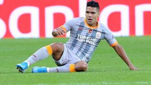 Yeni transfer Falcao, Brugge maçında yalnız kaldı