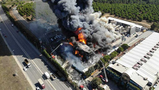 Tuzla'daki büyük fabrika yangınını o örgüt üstlendi