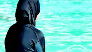 Haşemayla havuza giren kadınlara polis müdahalesi
