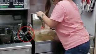 Fast food zincirinde mide bulandıran olay