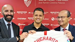 Javier Hernandez, Sevilla'da