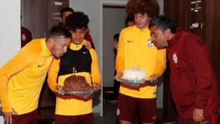 Galatasaray'da doğum günü sürprizi