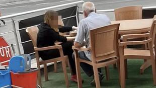 Yaşlı adam, lise öğrencisini taciz ettiği iddiasıyla gözaltına alındı