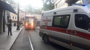 İstanbul'da otelde çıkan yangın büyük panik yarattı