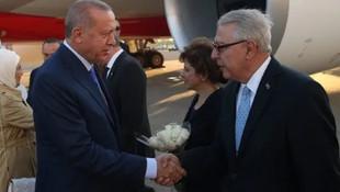 Erdoğan'a New York'ta coşkulu karşılama !