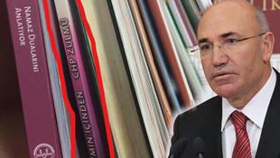 Skandalın böylesi... Camide ''CHP Zulmü'' kitabı sergileniyor