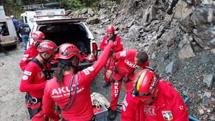 2 işçinin korkunç ölümü! 300 metreden düştüler...