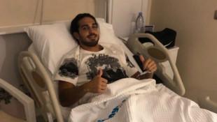 Kayserispor'da Levent Gülen ameliyat oldu