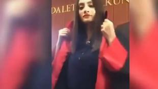 Mahkeme salonundaki Tiktok videosu hakkında açıklama