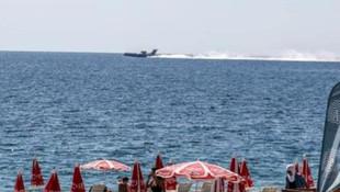 Antalya'da denize yolcu uçağı düştü sandılar!