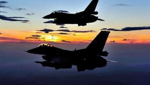 Türk jetleri yine Suriye'de uçtu