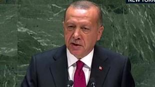 Cumhurbaşkanı Erdoğan'dan sert çıkış: ''Dünya çok çabuk unuttu''