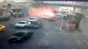 Adana'daki bombalı saldırı kamerada