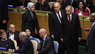 Erdoğan o lideri görünce salona girmedi