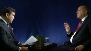 Cumhurbaşkanı Erdoğan Amerikalı sunucuyu azarladı