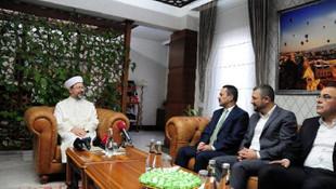 Diyanet İşleri Başkanı Erbaş: ''Afetlerden rabbimiz bizleri muhafaza eder''